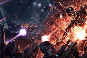 Terminator Resistance Wallpaper