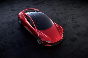 Tesla Roadster 2018