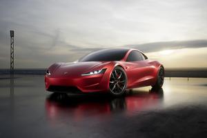 Tesla Roadster 2020 Wallpaper