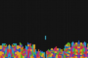 Tetris Abstract Wallpaper