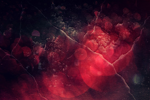 Texture Red Abstract 5k