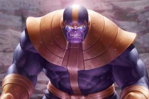 Thanos 2020 Artwork