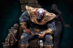 Thanos 4k 2020 Art Wallpaper