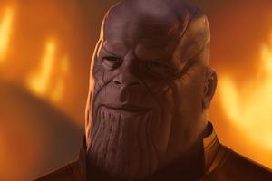 Thanos 4k Art