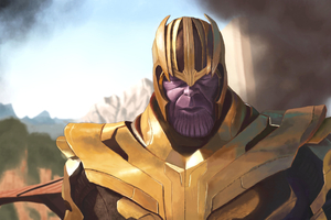Thanos 4k Artwork