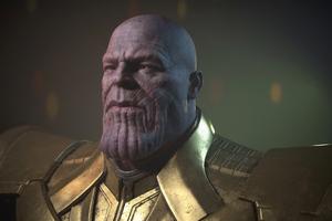 Thanos 4k Cgi Wallpaper
