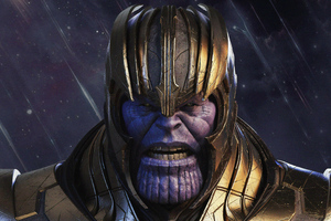 Thanos 4k New Art Wallpaper