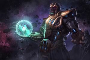 Thanos 4kart 2019 Wallpaper
