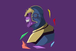 Thanos 5k Minimalistic