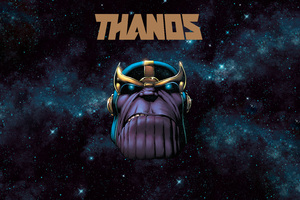 Thanos 5k Wallpaper