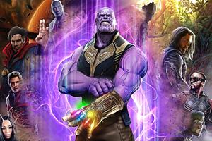 Thanos Avengers 2020 4k Wallpaper