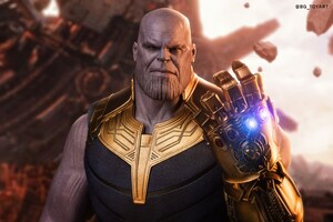 Thanos Avengers Infinity 4k