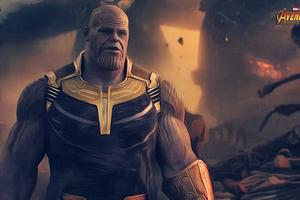 Thanos Avengers Infinity War 2018 4k Artwork