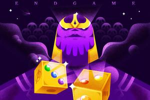 Thanos Big Guy Minimal
