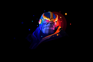 Thanos By Justin Maller 4k Wallpaper