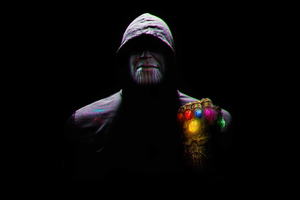 Thanos Caped Wallpaper