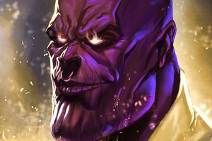 Thanos Cool Art