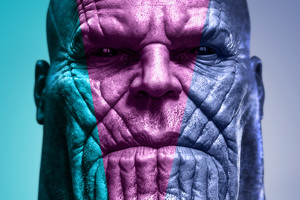 Thanos Digital Art