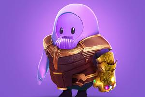 Thanos Fall Guys Wallpaper