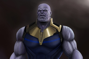Thanos Fan Art