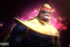 Thanos Fan Artwork