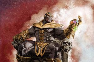 Thanos Gauntlet Avengers Endgame