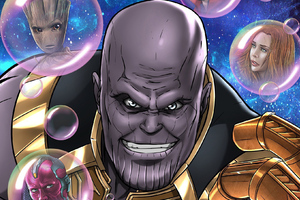 Thanos HD Art
