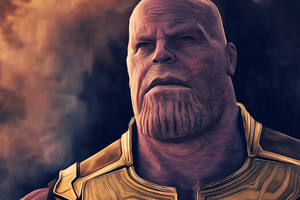Thanos In Avengers Infinity War 4k Artwork