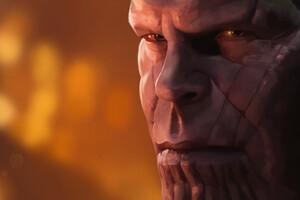 Thanos In Avengers Infinity War Artwork