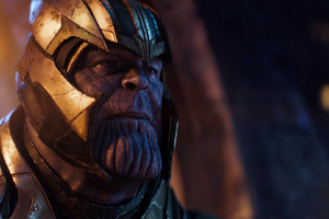 Thanos In Avengers Infinity War Movie