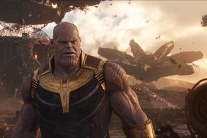 Thanos In Avengers Infinity War