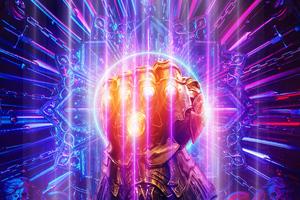 Thanos Infinity Gauntlet 2019