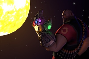 Thanos Infinity Gauntlet Fortnite Artwork