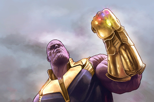Thanos Infinity Gauntlet HD