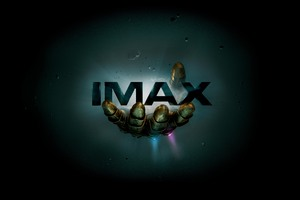 Thanos Infinity Gauntlet IMAX Poster 12k Wallpaper