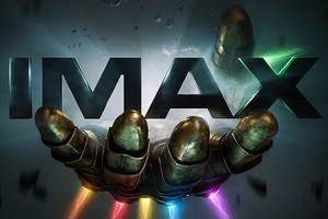 Thanos Infinity Gauntlet IMAX Poster