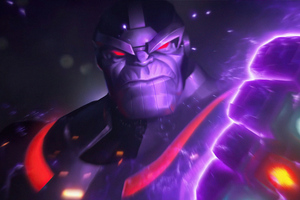 Thanos Marvel Contest Of Champions Wallpaper