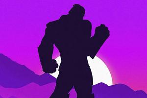 Thanos Minimal 5k Wallpaper