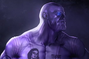 Thanos Movie Artwork