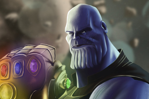 Thanos New 4k Art