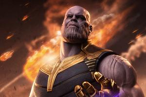 Thanos New 4k Wallpaper