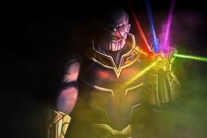 Thanos New Art 4k