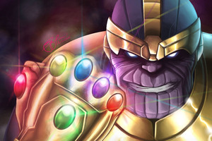 Thanos Six Gems