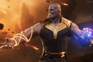 Thanos Supervillain