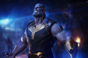 Thanos The Mad Titan 5k