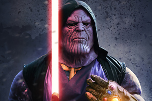 Thanos The Sith Lord 4k