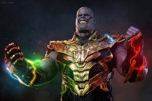 Thanos World Is Mine Wallpaper