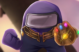 Thanos X Among Us 5k