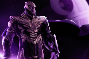 Thanos X Star Wars Wallpaper
