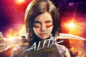 The Alita Battle Angel 4k Wallpaper